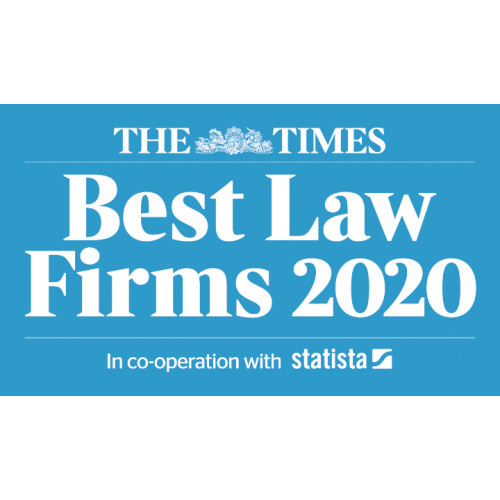 The Times Best Law Firms 2020