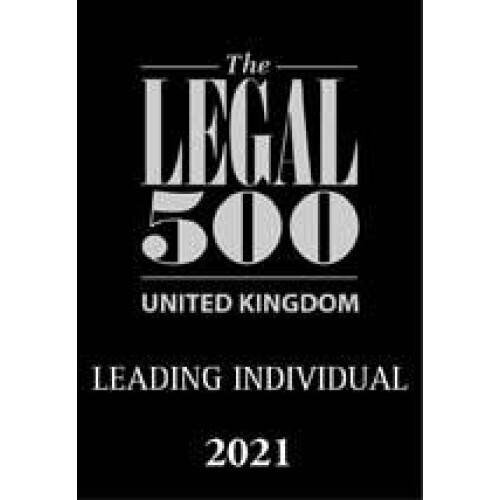The Legal 500 - Leading Individual 2021